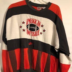 Vintage Nike American football crewneck gray tag
